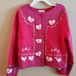 Girls Jacket-Spumoni By Rose Cage